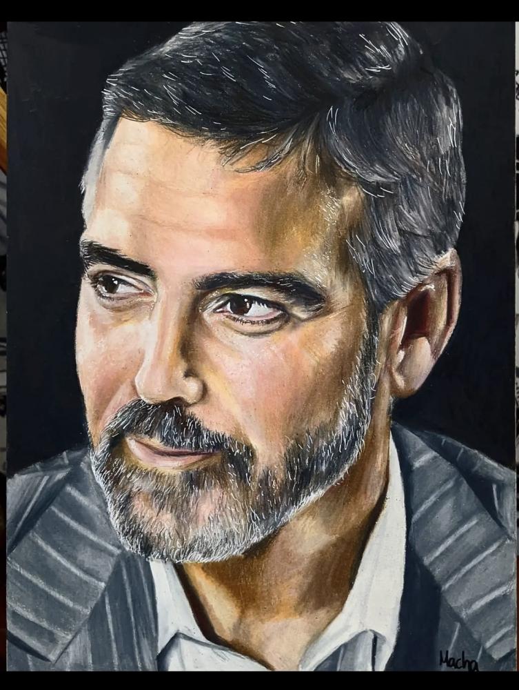 George Clooney por Macha